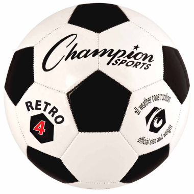 jcpenney.com | Champion Sports Retro 4 Soccer Ball