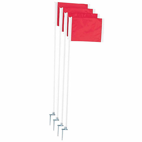 Champion Sports Deluxe 4-pc. Soccer Corner Flags