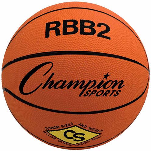 Champion Sports Junior Rubber Basketball