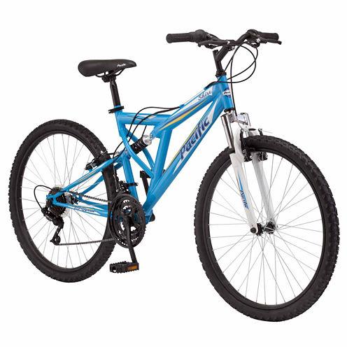 "Pacific Shire 26"" Womens Full Suspension Mountain Bike"