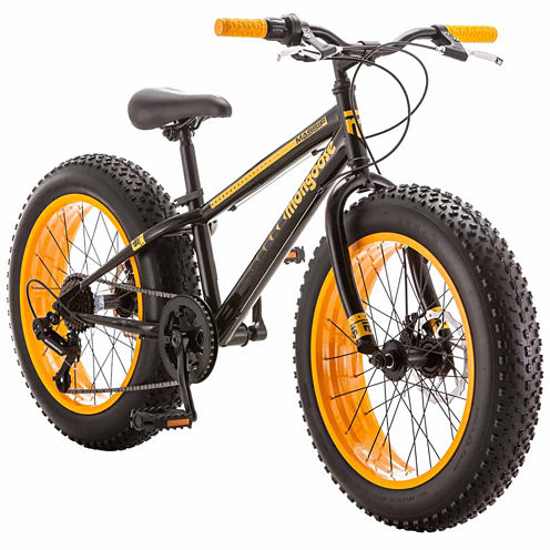 "Mongoose Massif Fat Tire 20"" Boys Bike"