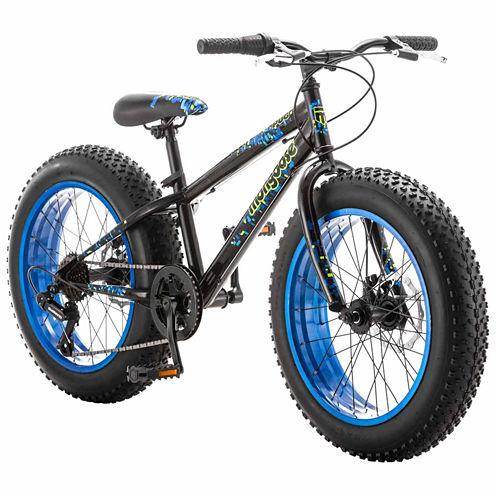 "Mongoose Pug Fat Tire 20"" Boys Bike"
