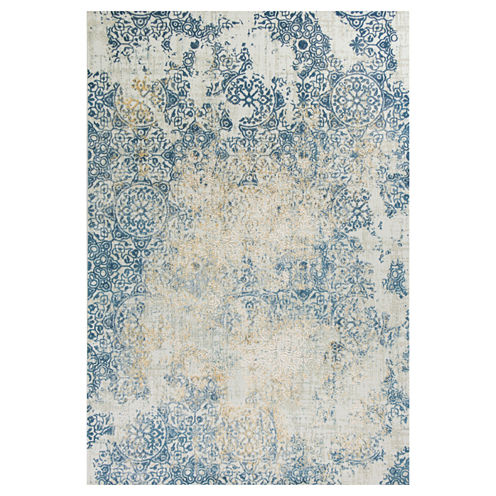 Accents Distressed Rectangle Accent Rug