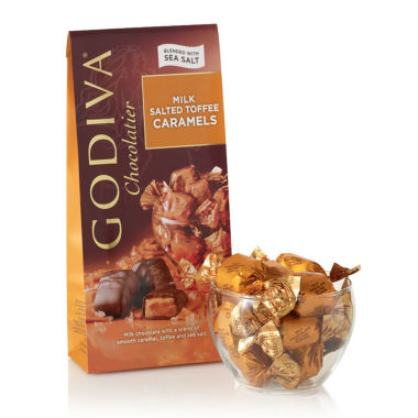 jcpenney.com | Godiva Milk Chocolate Salt Toffee Caramels