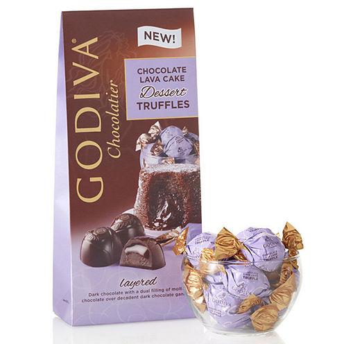 Godiva Dark Lava Cake Dessert Truffles