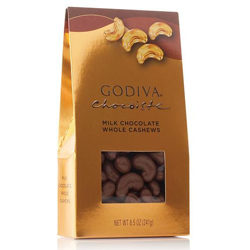 Godiva Milk Chocolate Cashews