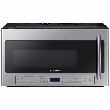 jcpenney.com | Samsung 2.1 cu. ft. Over The Range Microwave with Ceramic Enamel Interior