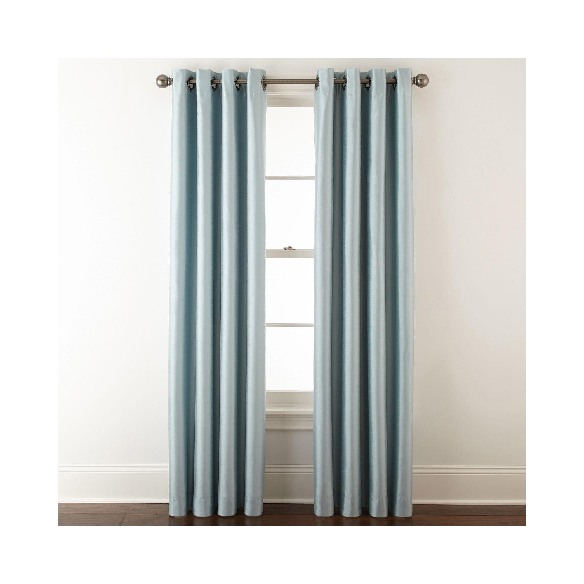 Upc 073107090083 Royal Velvet Plaza Grommet Top Lined Blackout Curtain Panel