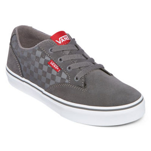 Vans® Winston Check Boys Skate Shoes - Big Kids