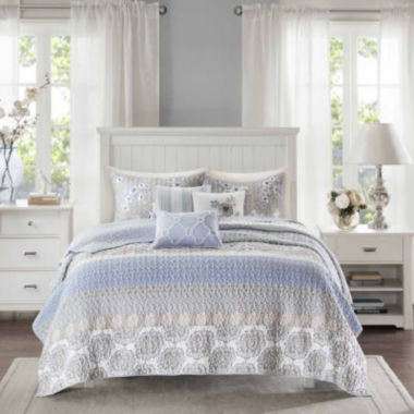 jcpenney.com | Madison Park Felicity 6-pc. Coverlet Set