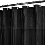 Park B. Smith Tuxedo Pleats Shower Curtain