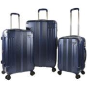 Travelers Club® Calypso 3-pc. Hardside Expandable Double-Spinner Upright Luggage Set