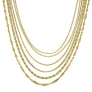1928® Gold-Tone Multi-Row Layered Necklace