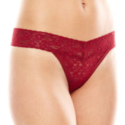 Ambrielle® Mystique® Lace Thong Panties