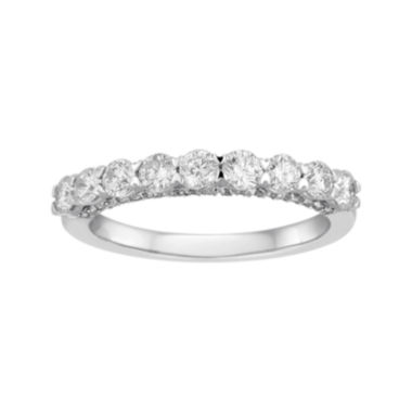 jcpenney.com | LIMITED QUANTITIES 1 CT. T.W. Round 14K White Gold Band Ring