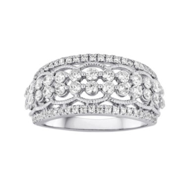 jcpenney.com | LIMITED QUANTITIES 1 CT. T.W. Diamond 10K White Gold Ring