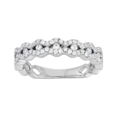 jcpenney.com | Botanical Bridal1/2 CT. T.W. Diamond  14K White Gold Band