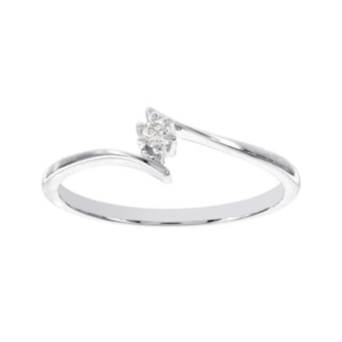 jcpenney.com | Lumastar Diamond-Accent 14K White Gold Solitaire Promise Ring