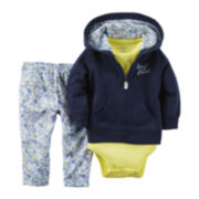 Carter's® 3-Piece Cardigan Set - Baby Girls newborn-24m