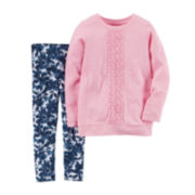 Carter's® Long-Sleeve Top and Leggings Set - Baby Girls newborn-24m