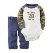 Carter's® Long-Sleeve Bodysuit Set - Baby Boys newborn-24m