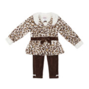 Little Lass Jacket, Top and Corduroy Pants - Toddler Girls 2t-4t