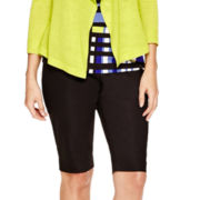 Worthington® Sateen Bermuda Shorts - Petite