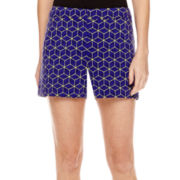 Worthington® Scuba Shorts - Petite