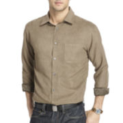 Van Heusen® Long-Sleeve Faux Suede Shirt