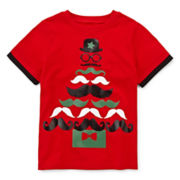 Okie Dokie® Graphic Holiday Tee - Preschool Boys 4-7