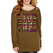 Arizona Long-Sleeve Sweatshirt - Juniors Plus
