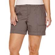 a.n.a® Cargo Shorts - Plus