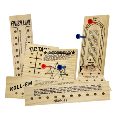 jcpenney.com | Totes 7 Piece Wooden Game Set