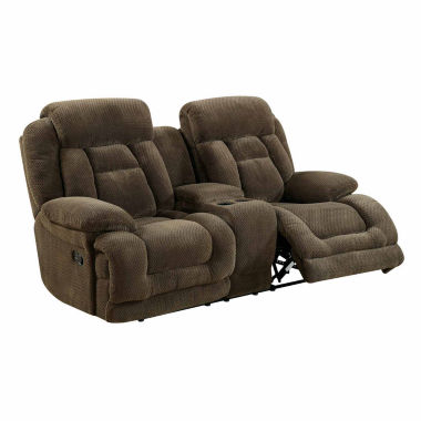 jcpenney.com | Haney Transitional Pad-Arm Reclining Loveseat