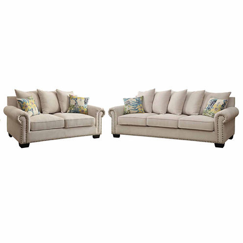 Ellis Transitional 2-pc. Seating Set
