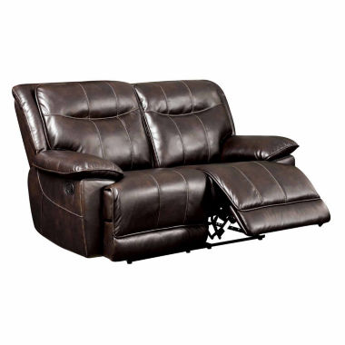 jcpenney.com | Corvan Transitional Pad-Arm Reclining Loveseat