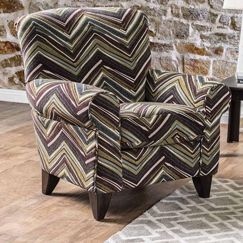 Fiorell Contemporary Fabric Club Chair