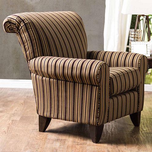 Gallovan Contemporary Fabric Club Chair