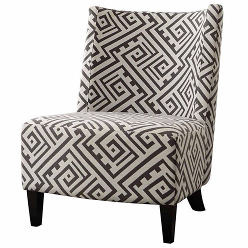 Gerrard Contemporary Fabric Club Chair
