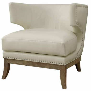 jcpenney.com | Genille Contemporary Nailhead Trim Leather Club Chair