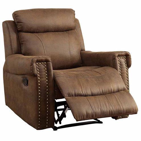 Aleppo Transitional Nailhead Trim Fabric Club Chair