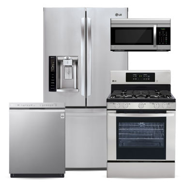 jcpenney.com | LG Ultra Large Capacity French-Door Kitchen Package-  Stainless Steel
