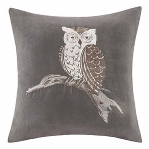 Madison Park Owl Square Throw Pillow