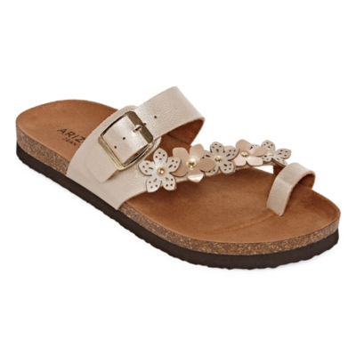 1da72352e4fb Arizona Sandra Womens Footbed Sandals - JCPenney
