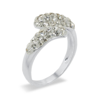 jcpenney.com | Sparkle Allure White Crystal Bypass Ring