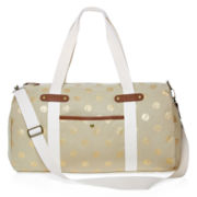 Olsenboye® Metallic Dot Duffle Bag