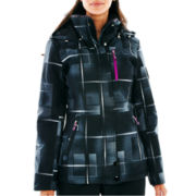 ZeroXposur® Belle Hooded Snowboard Jacket with Headband