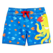 Candlesticks Octopus Swim Trunks - Boys 3m-24m