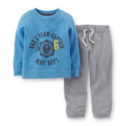 Carter's® French Terry Tee and Pants Set - Boys 2t-5t