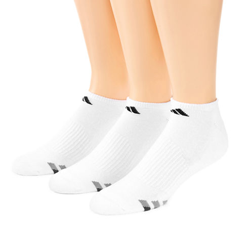 adidas® 3-pk. Athletic Cushioned No-Show Socks - Big & Tall